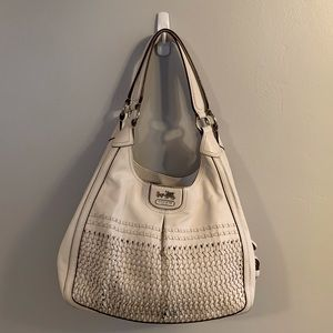 Coach Madison Maggie Woven Bag